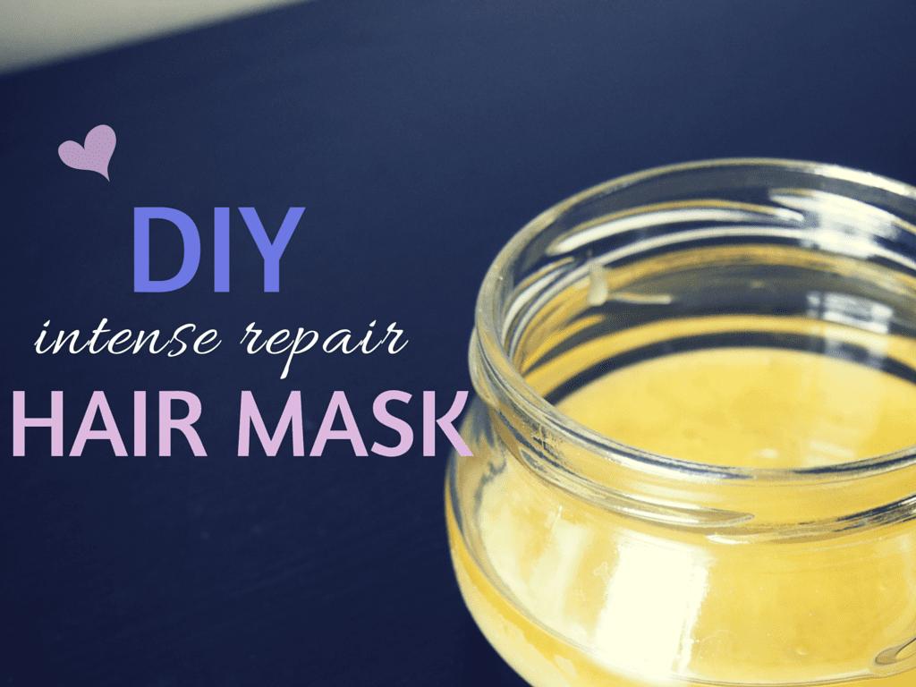DIY Hair Mask: Intense Repair Honey & Olive Oil