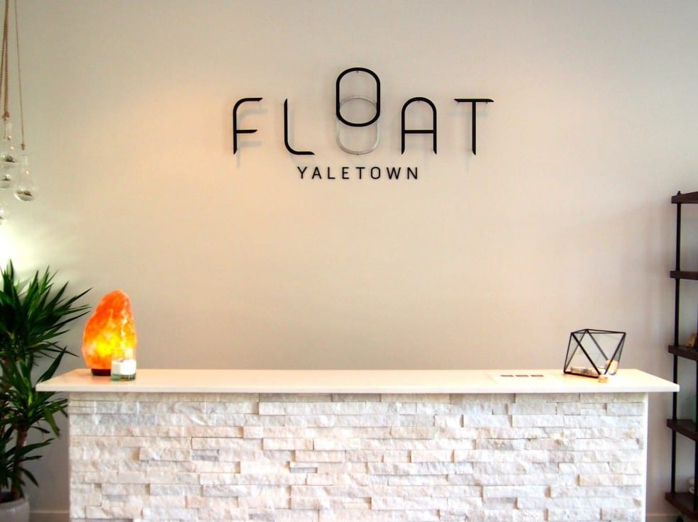 Ultimate Relaxation at Float Yaletown