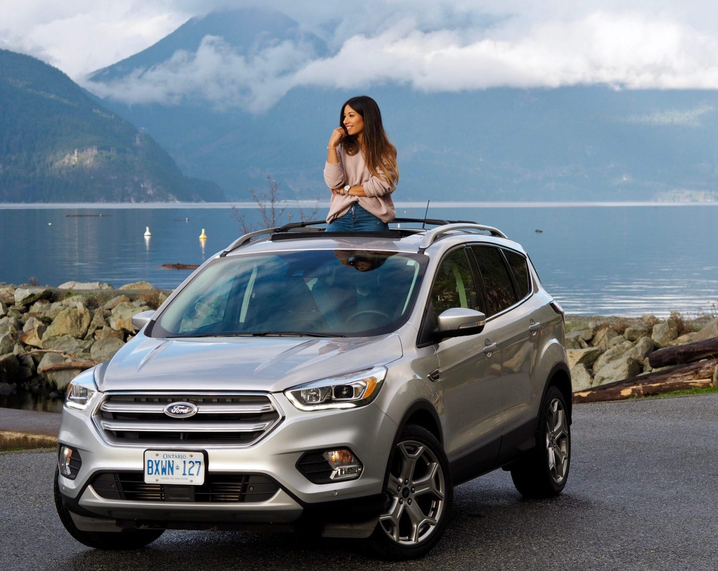 Escaping to whistler with ford canada