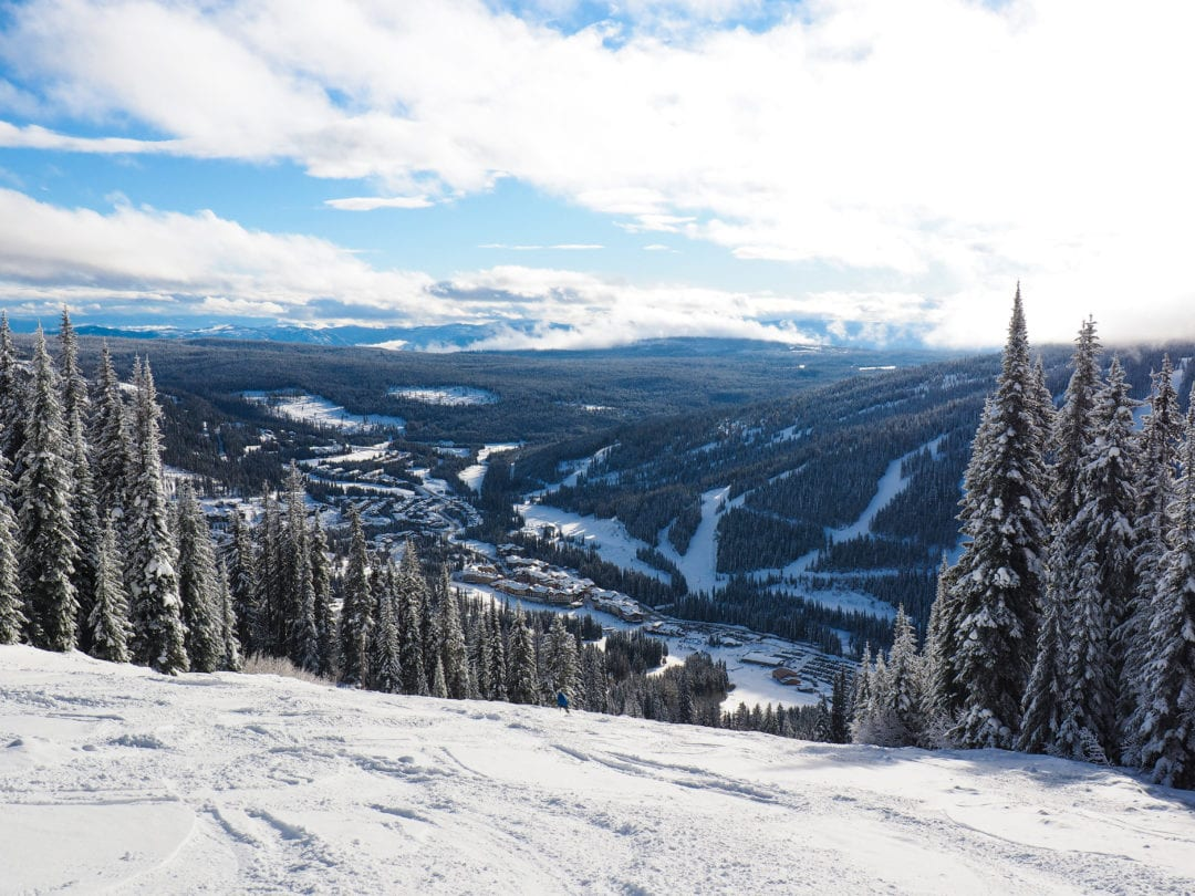 Sun Peaks In Winter
