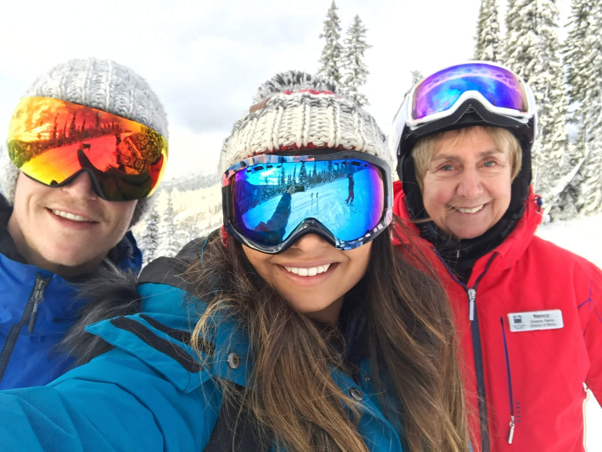 Skiing with Nancy Greene