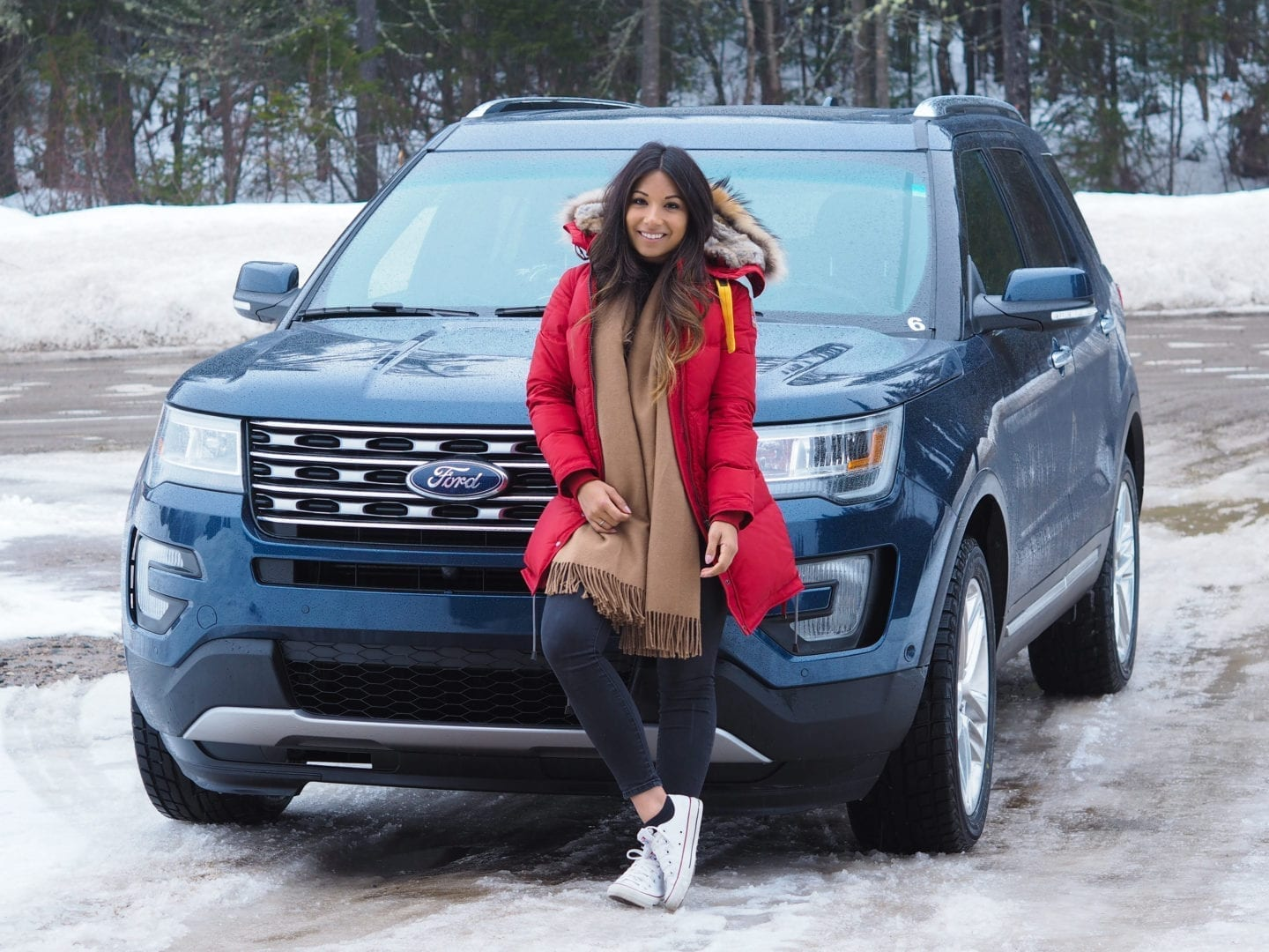 Quebec winter adventure with ford
