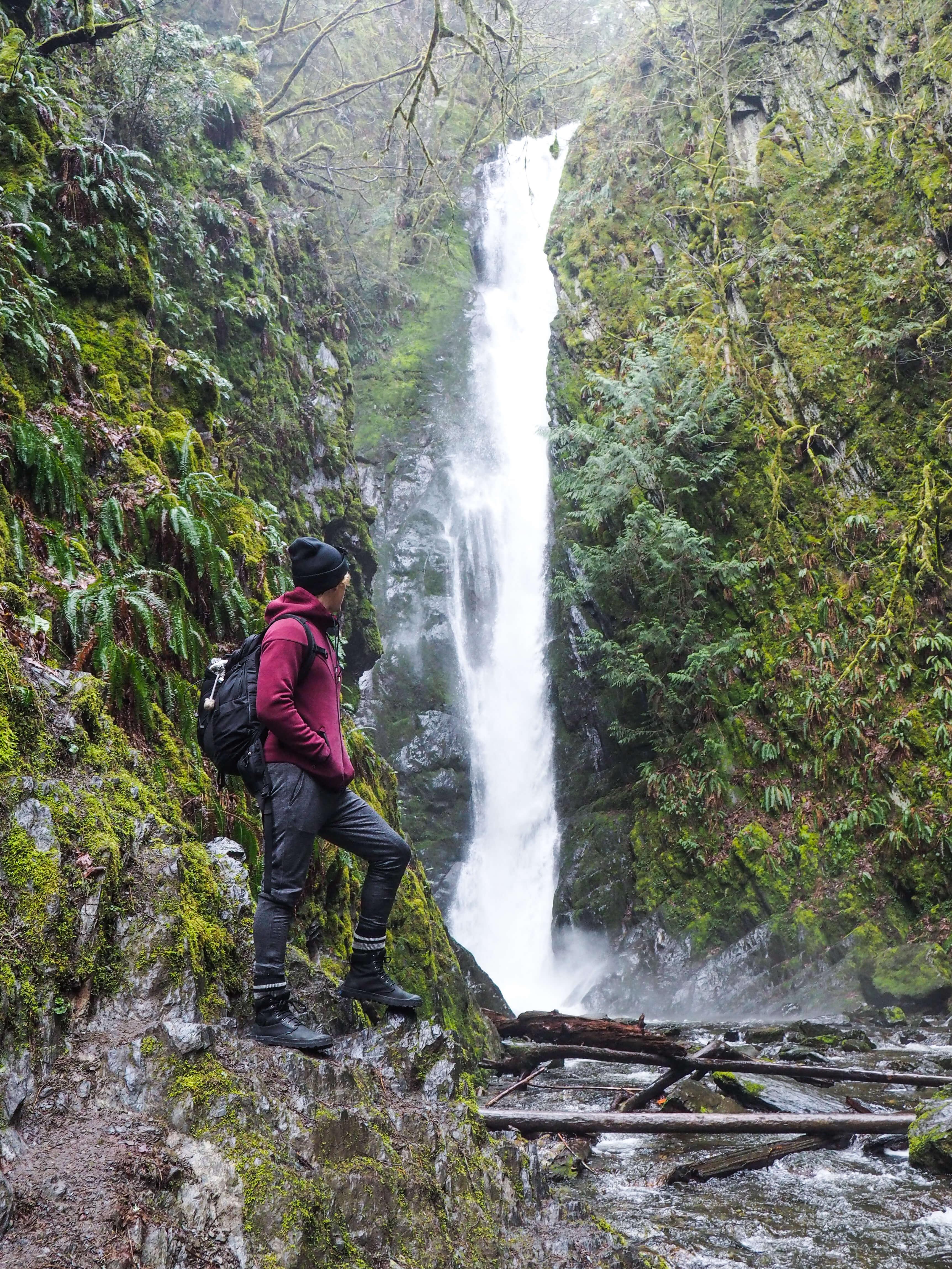Waterfalls near Victoria